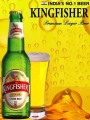 Orig. Indisches Bier / King Fisher / 4,8 % Alk /330 ml